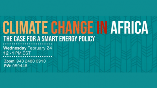 Climate Change in Africa talk