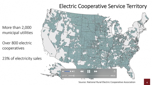 screenshot of electric co-op map from Gabe Chan's June 3 2020 presentation
