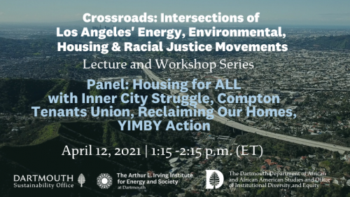 Crossroads Environmenrt, Energy, Race, Housing in LA