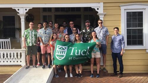Tuck students in Hawaii