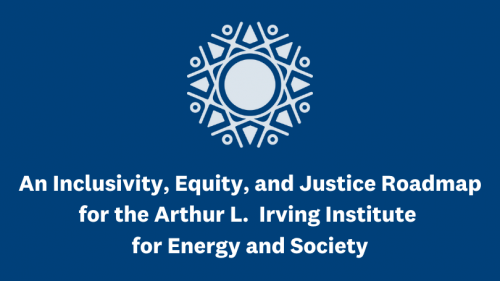 An Inclusivity, Equity, and Justice Roadmap for the Irving Institute for Energy and Society