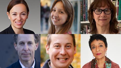 Top L-R: Aimee Barnes, Erin Mayfield, Jeanette Pablo Bottom L-R: Dan Reicher, Sam Ricketts, Peggy Shephard