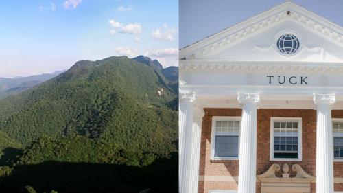 The Alto Mayo rainforest in Peru (left) Tuck Hall (right)