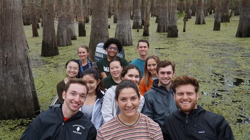 2019 Gulf Coast Group in the bayou