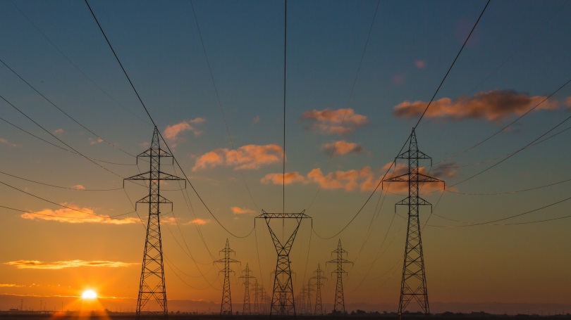 dawn-power_lines