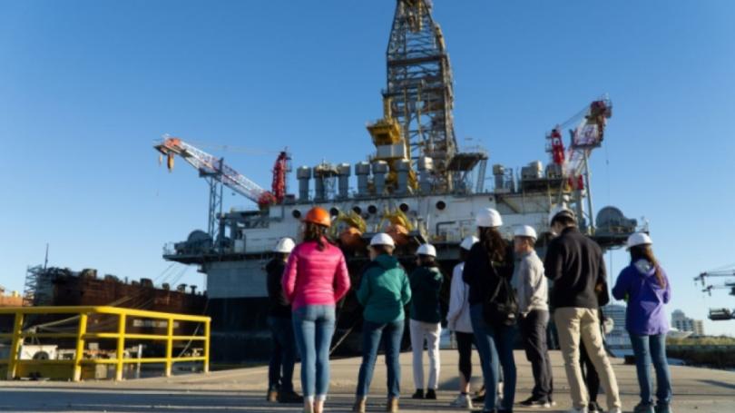Gulf Coast Trip_Offshore rig