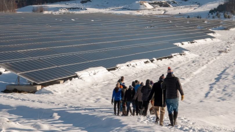 Elizabeth Copper Mine Solar Project