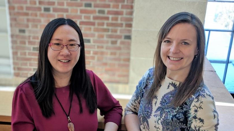 Fiona Li and Kat Mirica