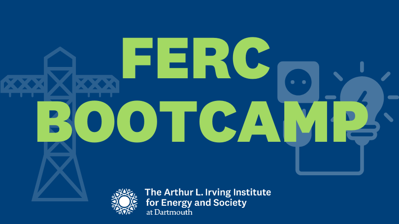 Graphic that says FERC Bootcamp