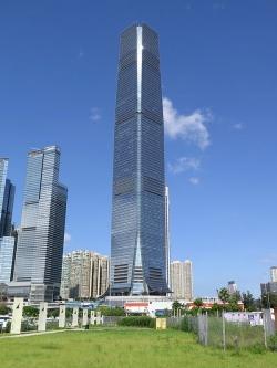 ICC Building in Hong Kong