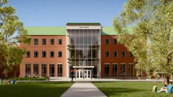 Irving Institute for Energy and Society building drawing